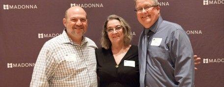 Madonna employees pay it forward through scholarship