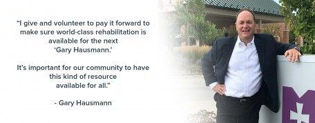 Foundation Donor Spotlight: Gary Hausmann