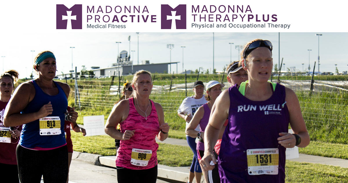 Madonna ProActive and Madonna TherapyPlus are proud sponsors of the 2017 Born and Raced in Nebraska 10K Series.