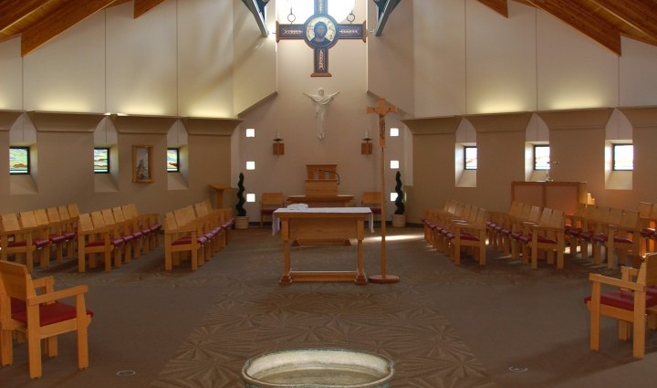 The James E. Ryan Memorial chapel located at Lincoln Campus