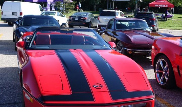 Miles for Madonna featured a Cornhusker Corvette Club Car Show.