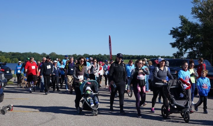 Many former patients and employees also joined us for the 1-mile walk.