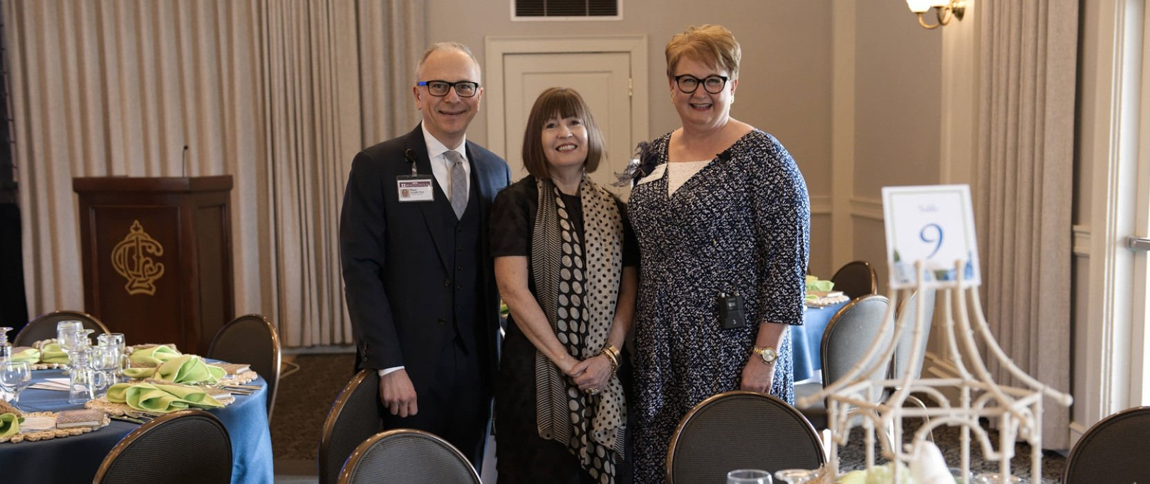 Garrity inspires and delights at 2018 Foundation inaugural Dish and Bloom luncheon