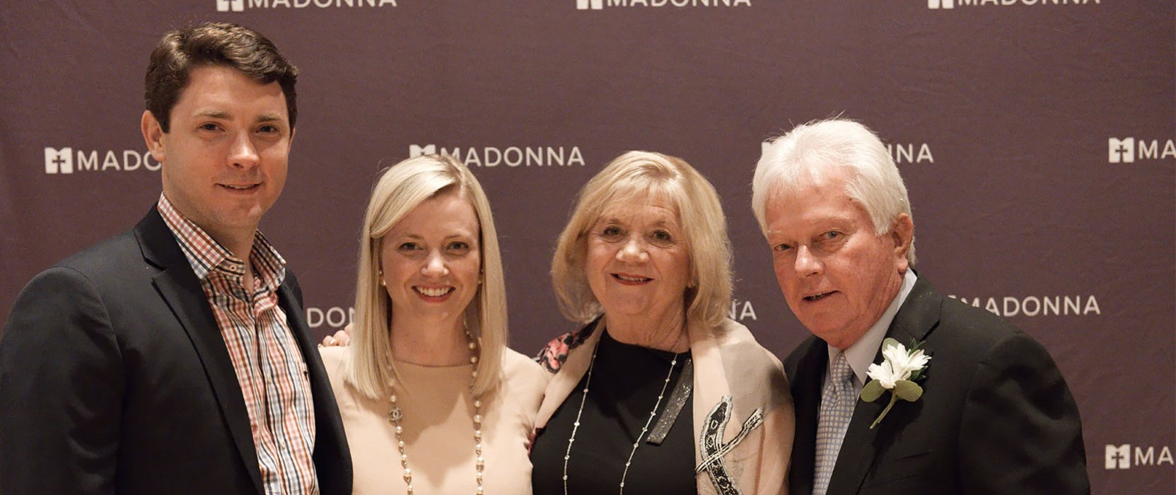 Angel Spotlight event honors two Madonna trustees