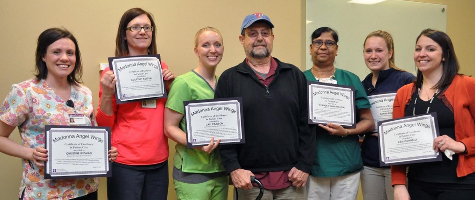 Past patient shares gratitude through Angel Wings program