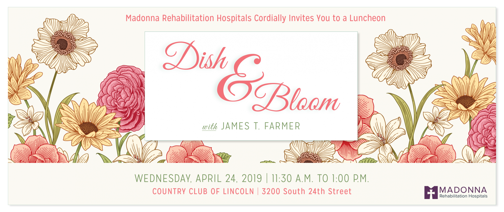 Save the Date: Dish & Bloom Luncheon