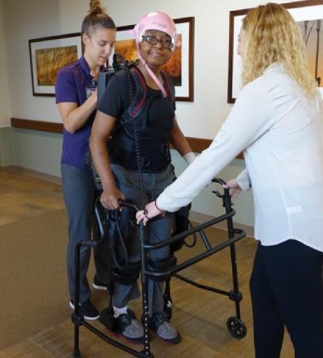 Omaha stroke survivor adopts 'no pain no gain' mantra for kids
