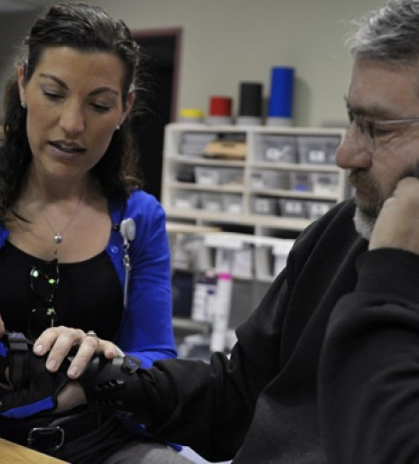 Nebraska trucker with nerve damage considers this adaptive technology a 'game changer'