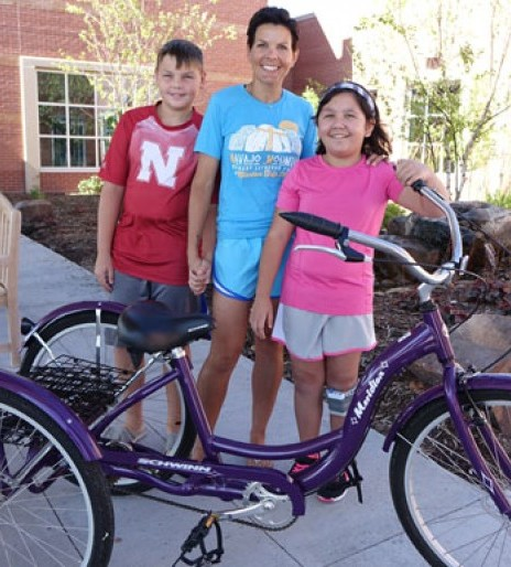 Paying it forward - One bicycle at a time