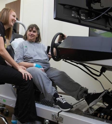 Technology helps stroke survivor regain vision deficits