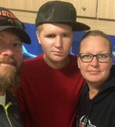 Brain injury survivor thrives back home and at school