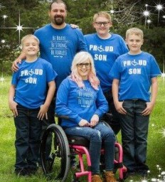 Active wife and mom learns to navigate life after spinal cord injury