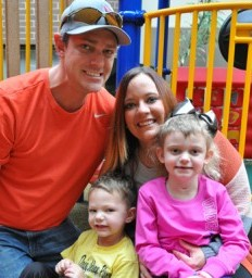 Traumatic brain injury survivor has her family by her side through therapy
