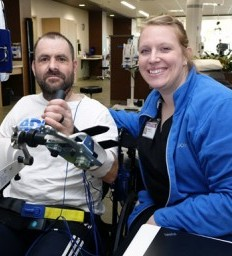 Gretna man has found his voice after a traumatic brain injury