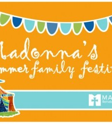 Madonna hosts summer family festival for peds patients