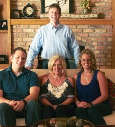 Faith, family and friends provide support system
