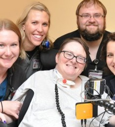 Philanthropy helps patient connect with the world