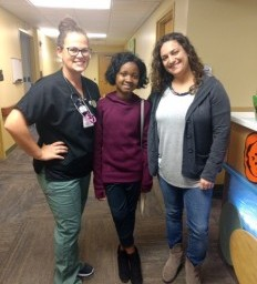 'Miracle Kid' from Tanzania returns to visit Madonna care team