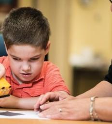 Rehabilitation keeps 6-year-old busy, mom says