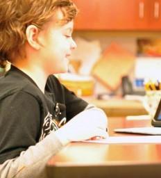 Grade-schooler returns to classroom following brain injury