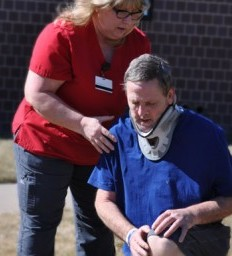 Spinal cord injury survivor describes rehabilitation