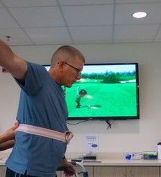 Rehabilitation after stroke helps Kearney man return to the golf course