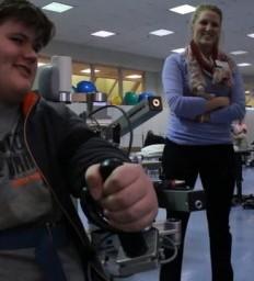 Iowa Teen Overcomes Stroke Through Gaming