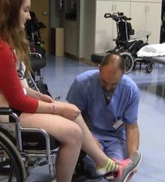 Rehabilitation helps teen recover from crash in time for prom