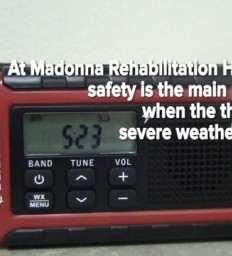 Planning in key to severe weather preparedness at Madonna Rehabilitation Hospital