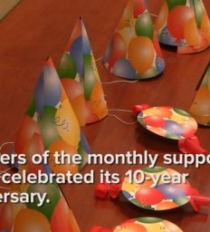Madonna Rehabilation Hospital Stroke Support Group celebrates 10-year anniversary