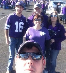 Stroke Survivor Vows to Cheer K-State On To Victory