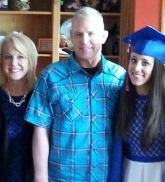 Stroke Survivor Walks at Daughters' Graduation