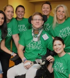Madonna staff surprise patient with T-shirts showing support