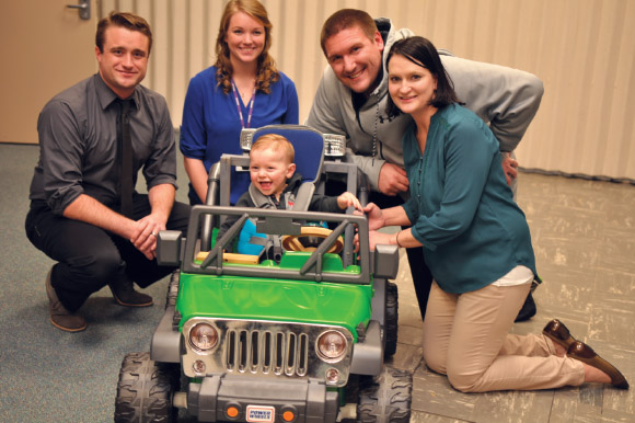 Carter's Car: Modified toy Jeep offers toddler new independence
